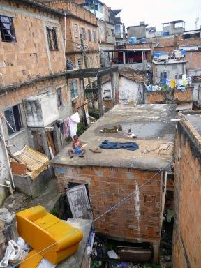 Sunday afternoon in Complexo da Penha, Rio de Janeiro