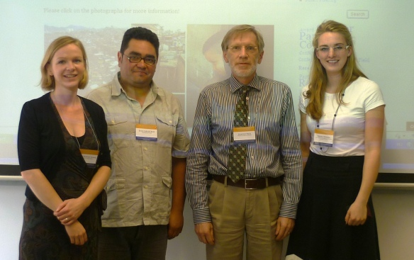 Susan Flaemig, Juan Carlos Ruiz, Edmund Pries and Verena Brähler (from left to right)