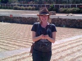 Kari Mariska Pries during her field research in El Salvador