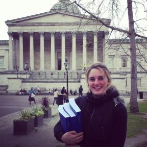Verena Brähler at UCL in London