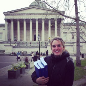Verena Brähler at UCL in London